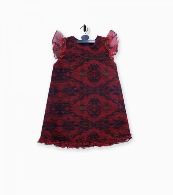 a line frock for baby girl